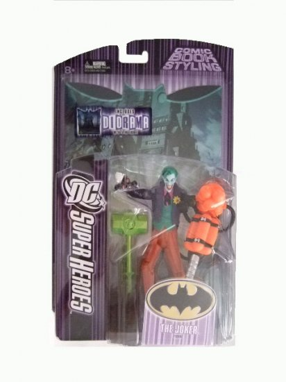 DC SuperHeroes Series 7 - The Joker (Distressed Packaging) Action Figure