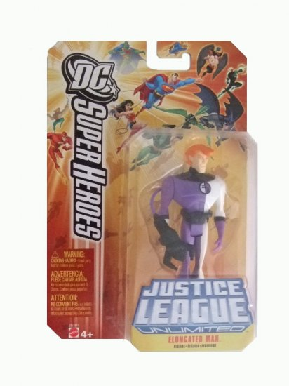 DC SuperHeroes: Justice League Unlimited - Elongated Man Action Figure
