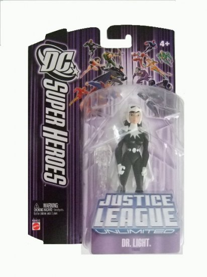 DC SuperHeroes: Justice League Unlimited - Dr. Light Action Figure