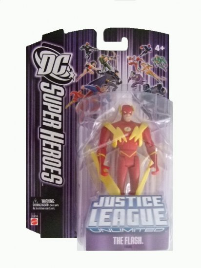 DC SuperHeroes: Justice League Unlimited - The Flash Action Figure