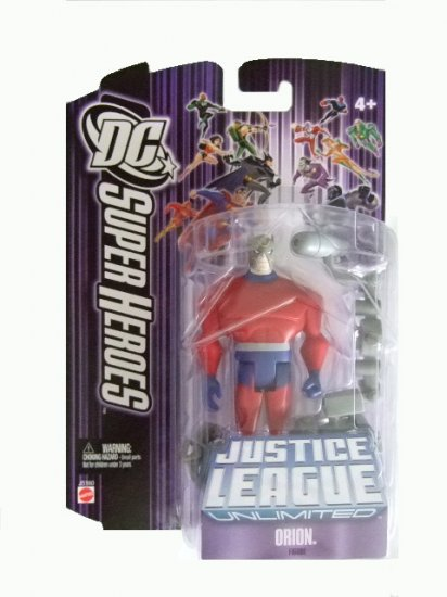 DC SuperHeroes: Justice League Unlimited - Orion Action Figure