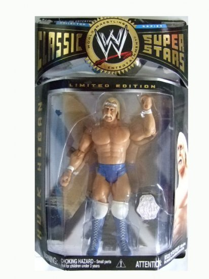 WWE Classic Superstars Limited Edition - Hulk Hogan Action Figure