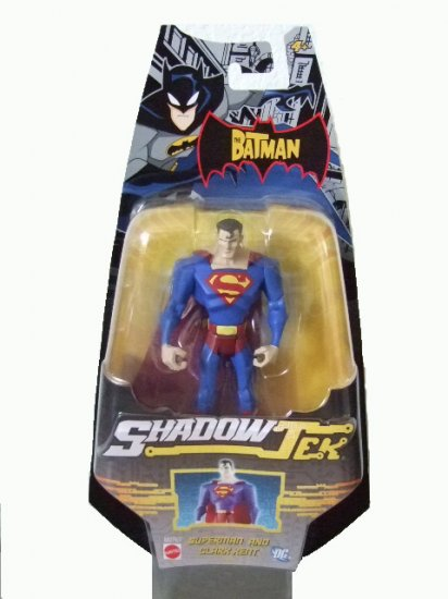 The Batman Shadowtek - Superman Action Figure Justice League