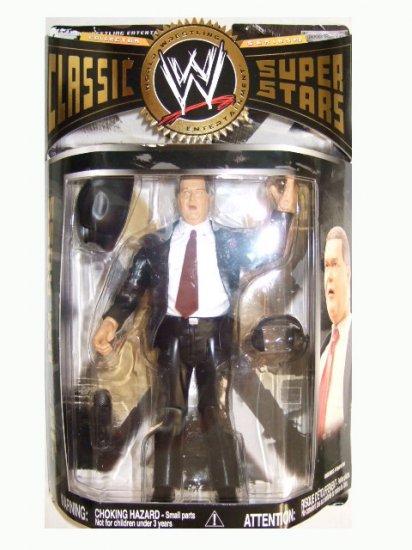 WWE Classic Superstars Series 18 - JR Jim Ross Action Figure
