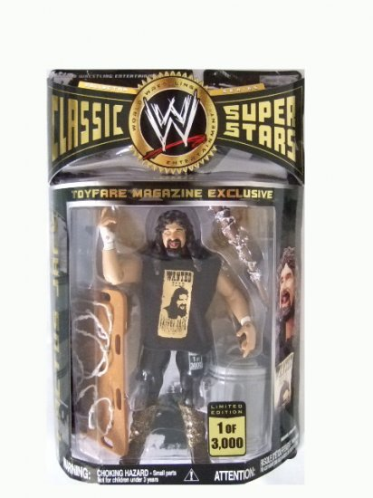 WWE Classic Superstars Toyfare Exclusive - Cactus Jack Action Figure