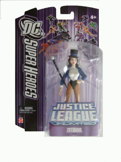 DC Super Heroes: Justice League Unlimited - Zatanna Action Figure