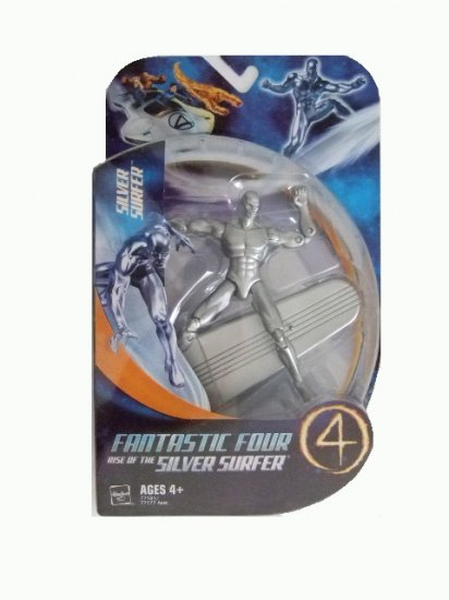 Fantastic Four Rise of the Silver Surfer - Silver Surfer Action Figure