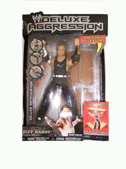 WWE Deluxe Aggression Series 7 - Jeff Hardy Action Figure ECW WCW