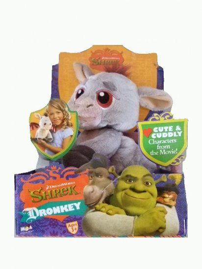 Shrek 3 Movie - 10 Inch Dronkey Plush Figure