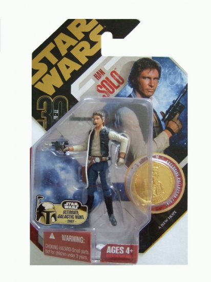 Star Wars 30th Anniversary Ultimate Galactic Hunt - Han Solo Action Figure