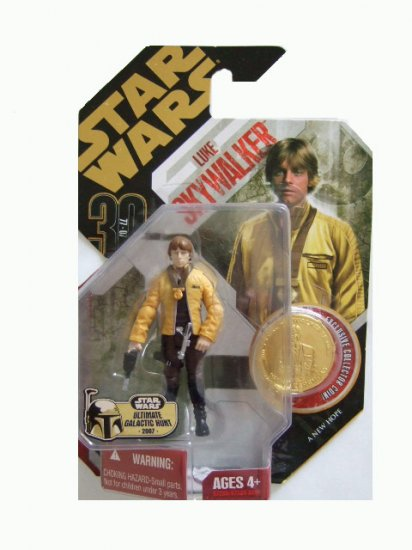 Star Wars 30th Anniversary Ultimate Galactic Hunt - Luke Skywalker Action Figure