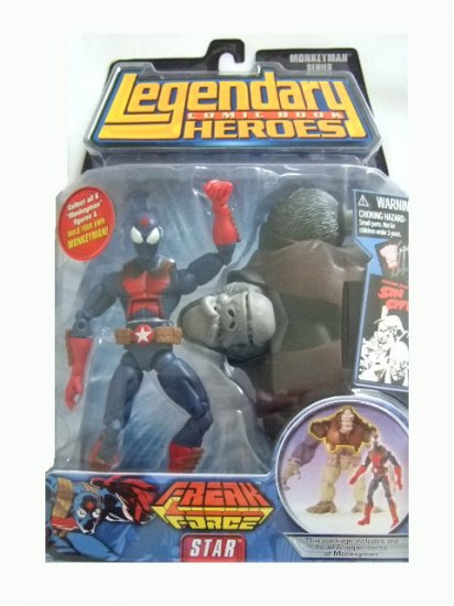 Legendary Comic Book Heroes Monkeyman Series - Star Action Figure