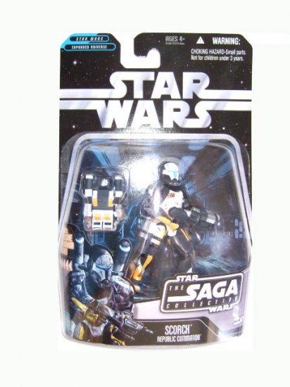 Star Wars Saga Collection Wave 3 - Scorch Action Figure