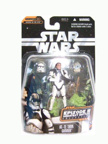 Star Wars Episode 3 Greatest Battles Collection - AT-TE Tank Gunner Action Figure