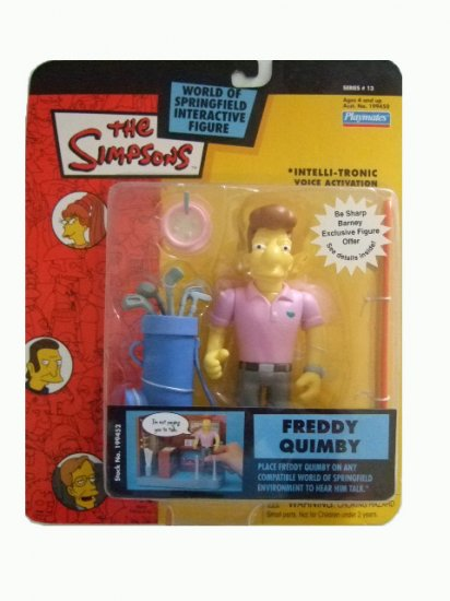 The Simpsons Series 13 - Freddy Quimby Action Figure