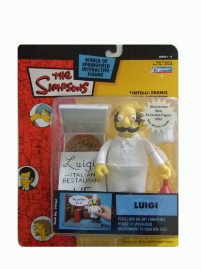 The Simpsons Series 14 - Luigi Action Figure