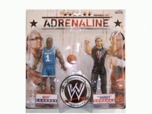 WWE Adrenaline 29 - MVP & Matt Hardy Action Figure 2-Pack