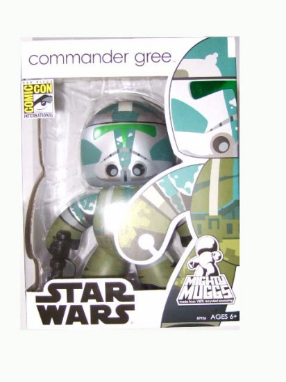 San Diego Comic Con 2008 Exclusive - Mighty Muggs Commander Gree Action Figure