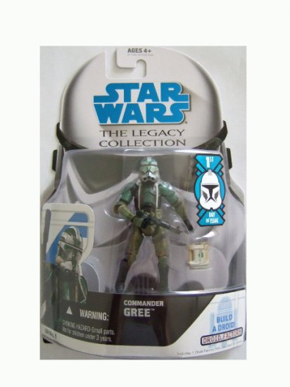 Star Wars Legacy Collection 1st Day of Issue - Commander Gree Action Figure