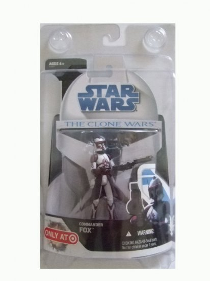 Star Wars Clone Wars - Commander Fox Retail Exclusive Action Figure