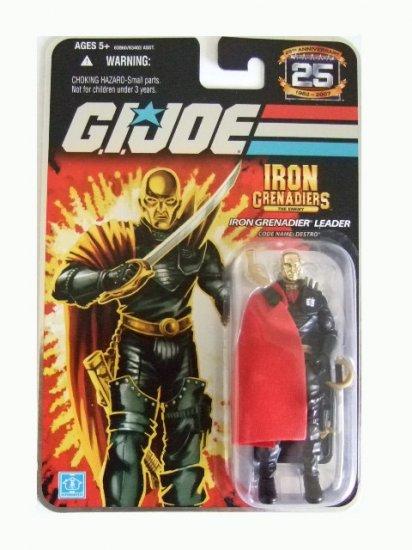 GI Joe 25th Anniversary Wave 5 - Iron Grenadiers Destro Action Figure