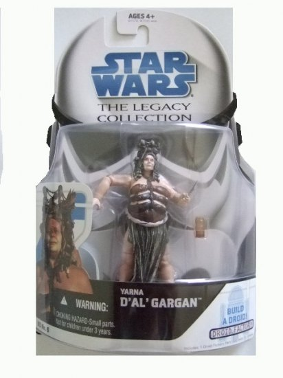 Star Wars Legacy Collection - Yarna D'Al' Gargan Action Figure