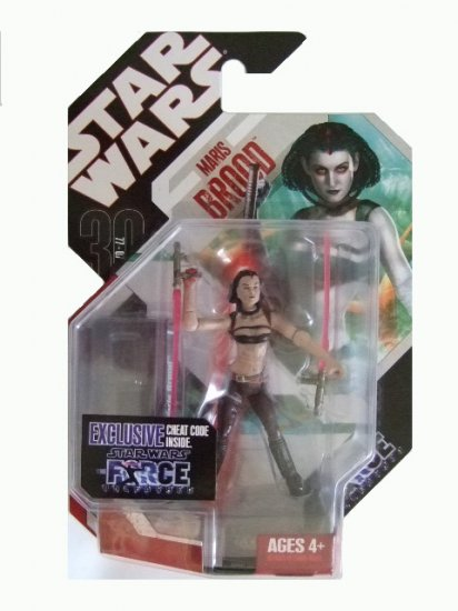 Star Wars 30th Anniversary Force Unleashed - Maris Brood Flesh Tone Variant Action Figure