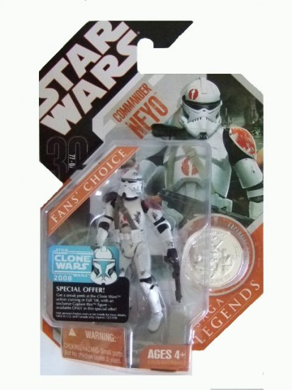 Star Wars 30th Anniversary Saga Legends - Commander Neyo Action Figure