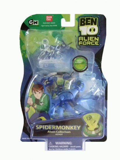 Ben 10 Alien Force - Spidermonkey Action Figure