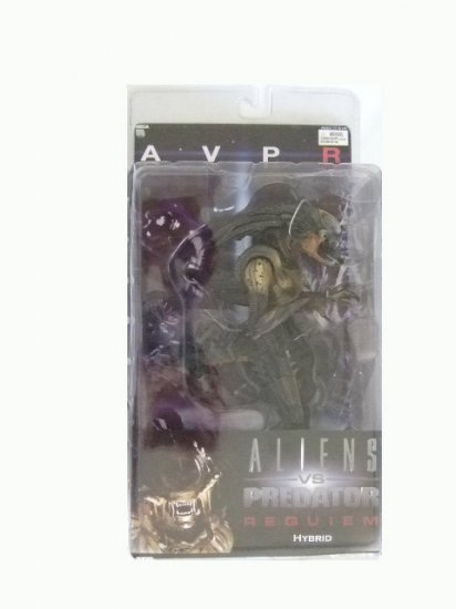 Aliens vs Predator Requiem Series 1 - Hybrid(Open Mandibles) Action Figure