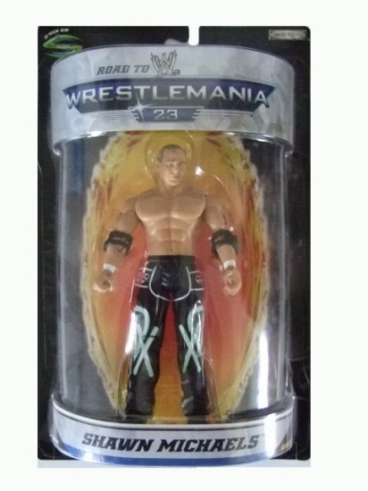 WWE Road to Wrestlemania 23 - Shawn Michaels Action Figure