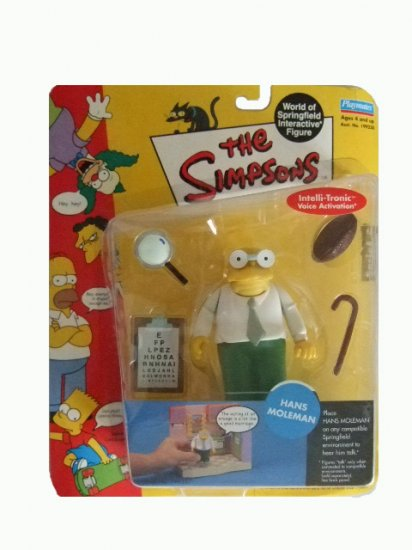 The Simpsons Series 7 - Hans Moleman Action Figure