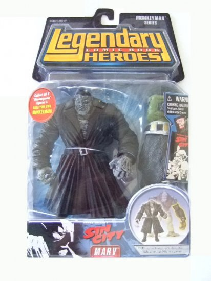Legendary Comic Book Heroes Monkeyman Series - Marv Action Figure