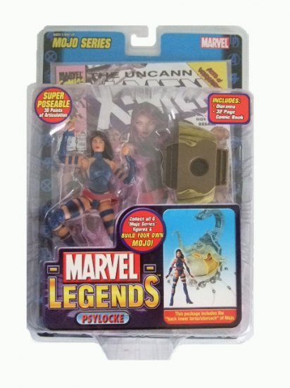 Marvel Legends Series 14(Mojo) - Psylocke Action Figure