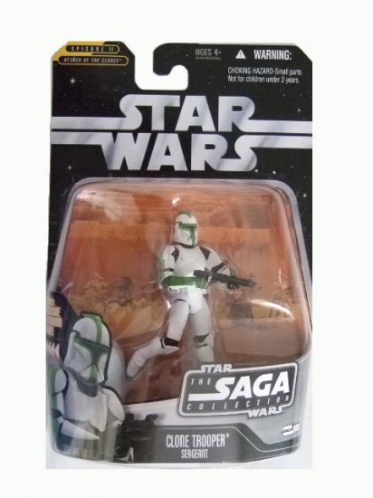 Star Wars Saga Collection Wave 8 - Clone Trooper Sergeant Action Figure