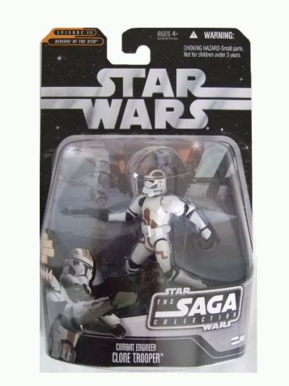 Star Wars Saga Collection Wave 9 - Combat Engineer Clone Trooper Action Figure