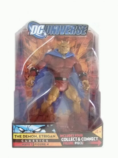 DC Universe Series 1 - The Demon Etrigan Action Figure Justice League