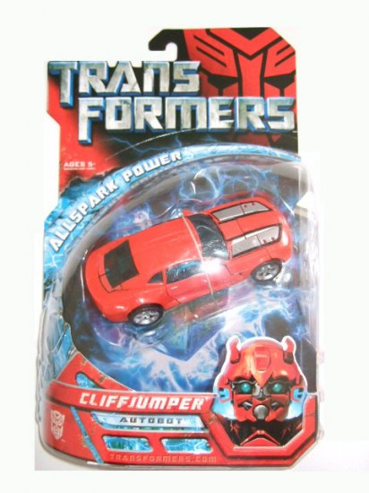 Transformers The Movie Deluxe Class -  Cliffjumper Action Figure