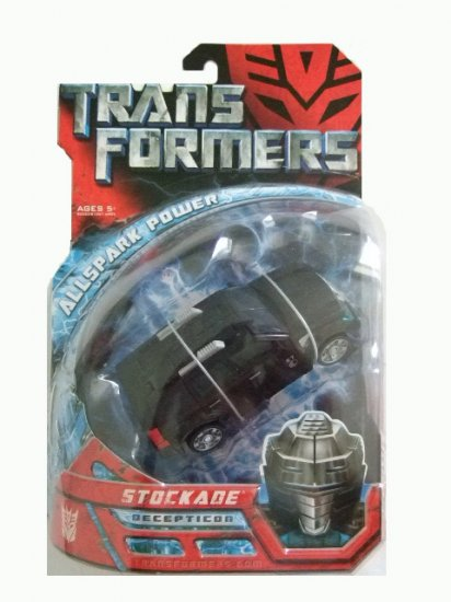 Transformers The Movie Deluxe Class -  Stockade Action Figure