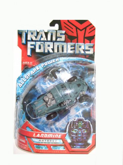 Transformers The Movie Deluxe Class -  Landmine Action Figure
