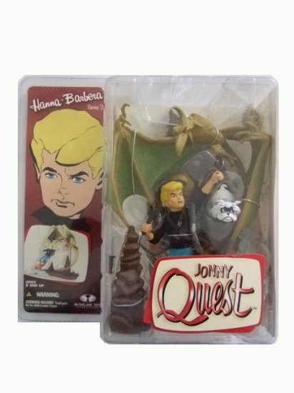McFarlane Hanna Barbera Series 2 - Jonny Quest Action Figure