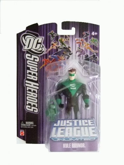 DC Super Heroes: Justice League Unlimited - Kyle Raynor Action Figure