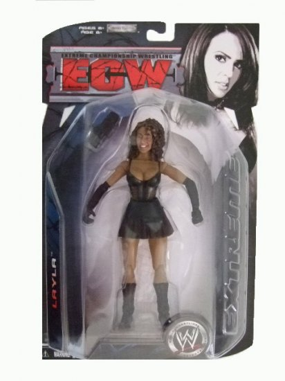 WWE ECW Series 3 - Layla Action Figure