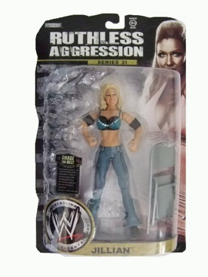 WWE Ruthless Aggression Series 31 - Jillian Action Figure Ring Rage