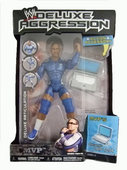 WWE Deluxe Aggression Series 11 - MVP Action Figure