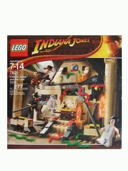 LEGO Indiana Jones and the Lost Tomb Set