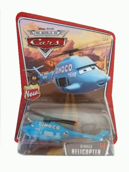 World of Cars - Dinoco Helicopter #27 Vehicle