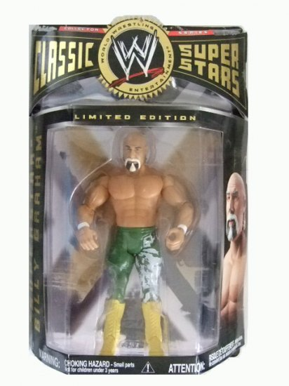 WWE Classic Superstars Limited Edition - Superstar Billy Graham in Green Tights Action Figure