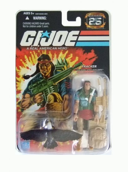GI Joe 25th Anniversary Wave 7 - Spirit Iron Knife Action Figure