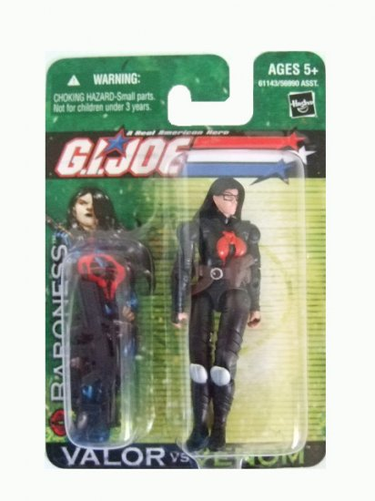 GI Joe Valor vs Venom - Baroness Action Figure